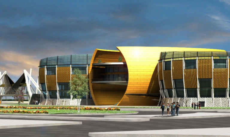 Siingle layer facade structure