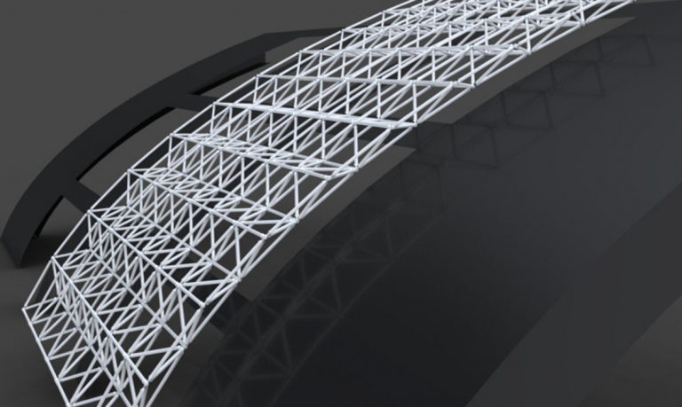 Spaceframe canopy