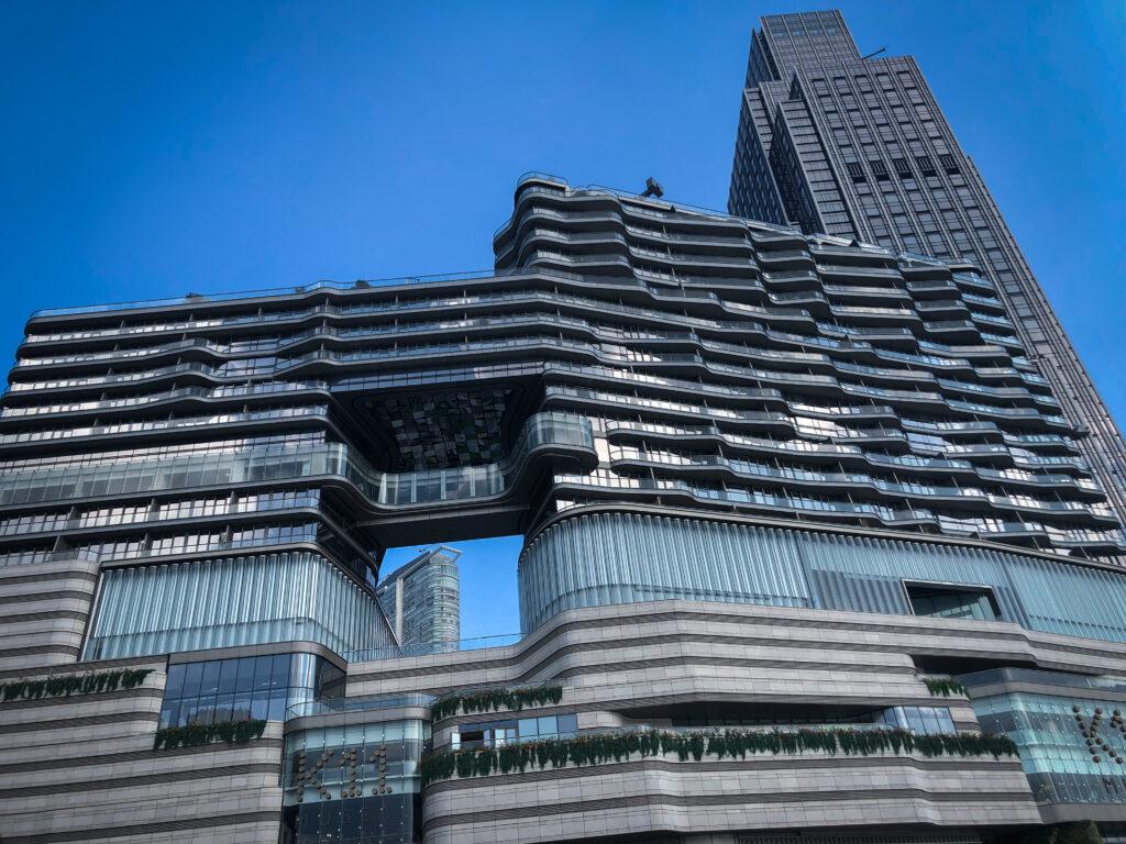 New world center Hong Kong